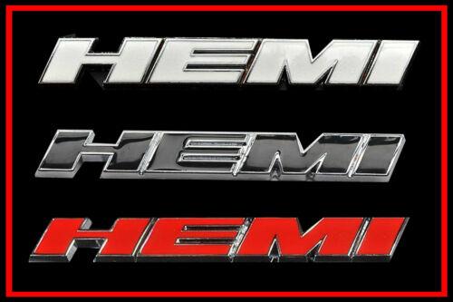 Hemi emblem usa car auto logo sticker dodge challenger aluminum 3d ram