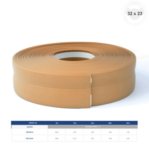 Doux socle Barres fussleisten plastique doux socle barre auto-adhésif kw5