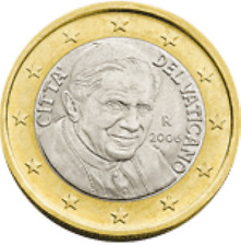 Vatikaan  2010   1 euro   UNC uit de BU  UNC du coffret  Zeldzaam - Extreme rare