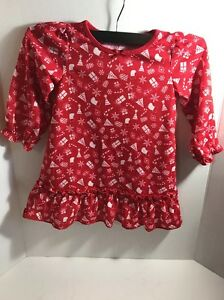 1d568bcd9 NEW Baby Girls Fleece Holiday Night Gown