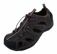 Rockport Xcs Fisherman Mens Brown Leather Memory Foam Sandals