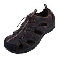 Rockport Xcs Fisherman Mens Brown Leather Memory Foam Sandals