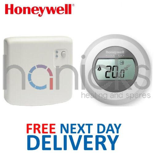 NEUF * Honeywell unique zone sans fil RF Thermostat Y87RF Y87RF2024 Genuine