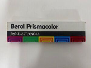 Vintage-Berol-Prismacolor-Eagle-Art-Colored-Pencils-Sienna-Brown-Qty-12-945