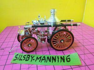 FIRE TRUCKS~MOTORMI<wbr/>NT~1886 SILSBY-MANNING  STEAM FIRE ENGINE~MINT IN BOX~C.O.A.