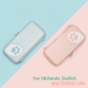 Cute-Cat-Paw-Portable-Case-Pouch-Bag-for-Nintendo-Switch-and-Switch-Lite