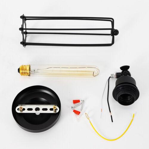 Retro Vintage Metall Regenschirm Industrie Drehbar Loft Wandleuchte Wandlampe