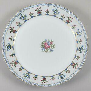 Bernardaud-China-CHATEAUBRIAND-BLUE-11-034-Round-Deep-Platter-EX