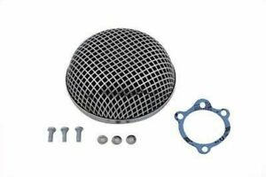 Details about Chrome Round Mesh Air Cleaner Keihin Bendix Butterfly  Carburetor Harley Ironhead