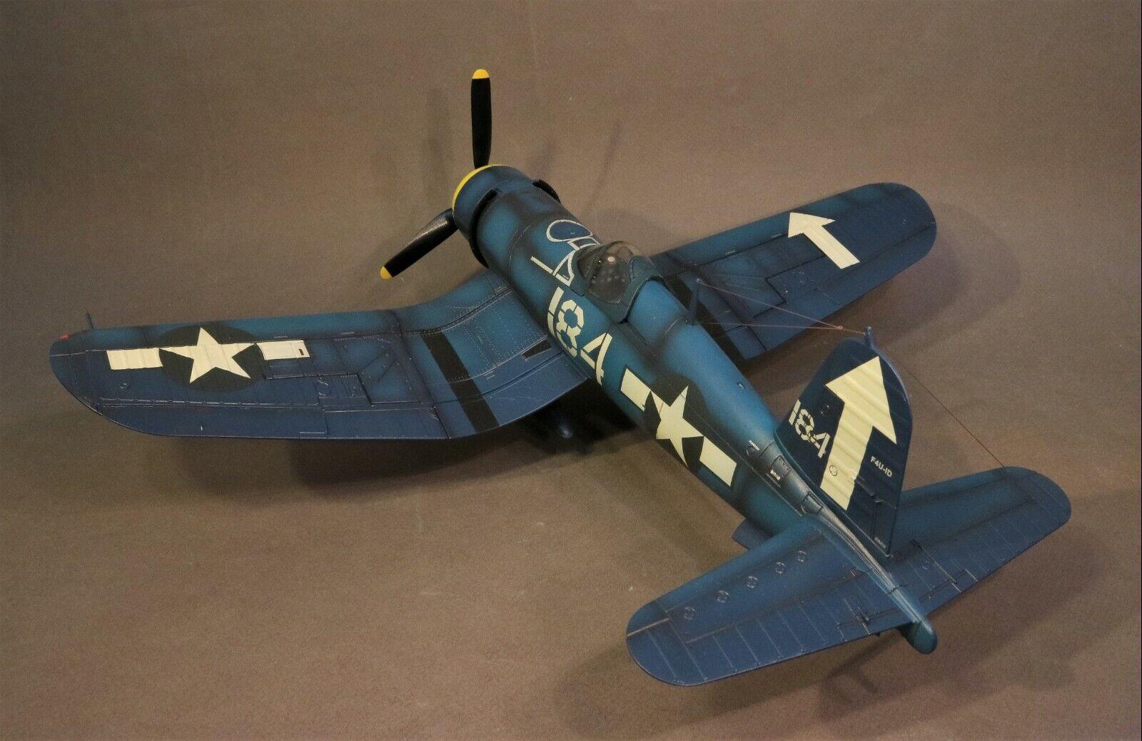 JOHN JENKINS SECOND WORLD WAR WW2 BH-03 (184) VOUGHT F4U-1D CORSAIR FIGHTER MIB