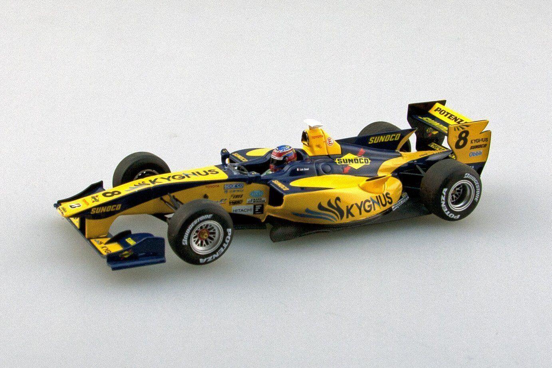 Ebbro 45118 equipo kygnus sf14 2014 giallo blu 1 43 Escala