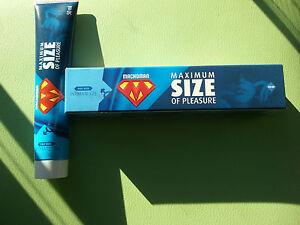 maximum size of pleasure macho man