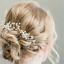 Fashion-Bridal-Hair-Accessories-Pearl-Flower-Hair-Stick-Pin-Wedding-Jewelry-New thumbnail 5