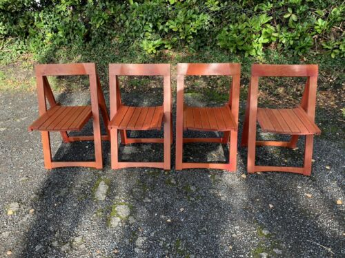 Vintage Mid-Century Aldo Jacober folding chairs