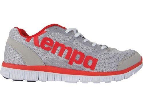 Kempa Statement K-Float Hommes Chaussures De Loisirs Gris//Rouge//Blanc Nouveau