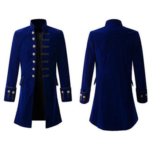 UK Mens Vintge Tailcoat Jacket Victorian Steampunk Gothic Ringmaster Tail Coats