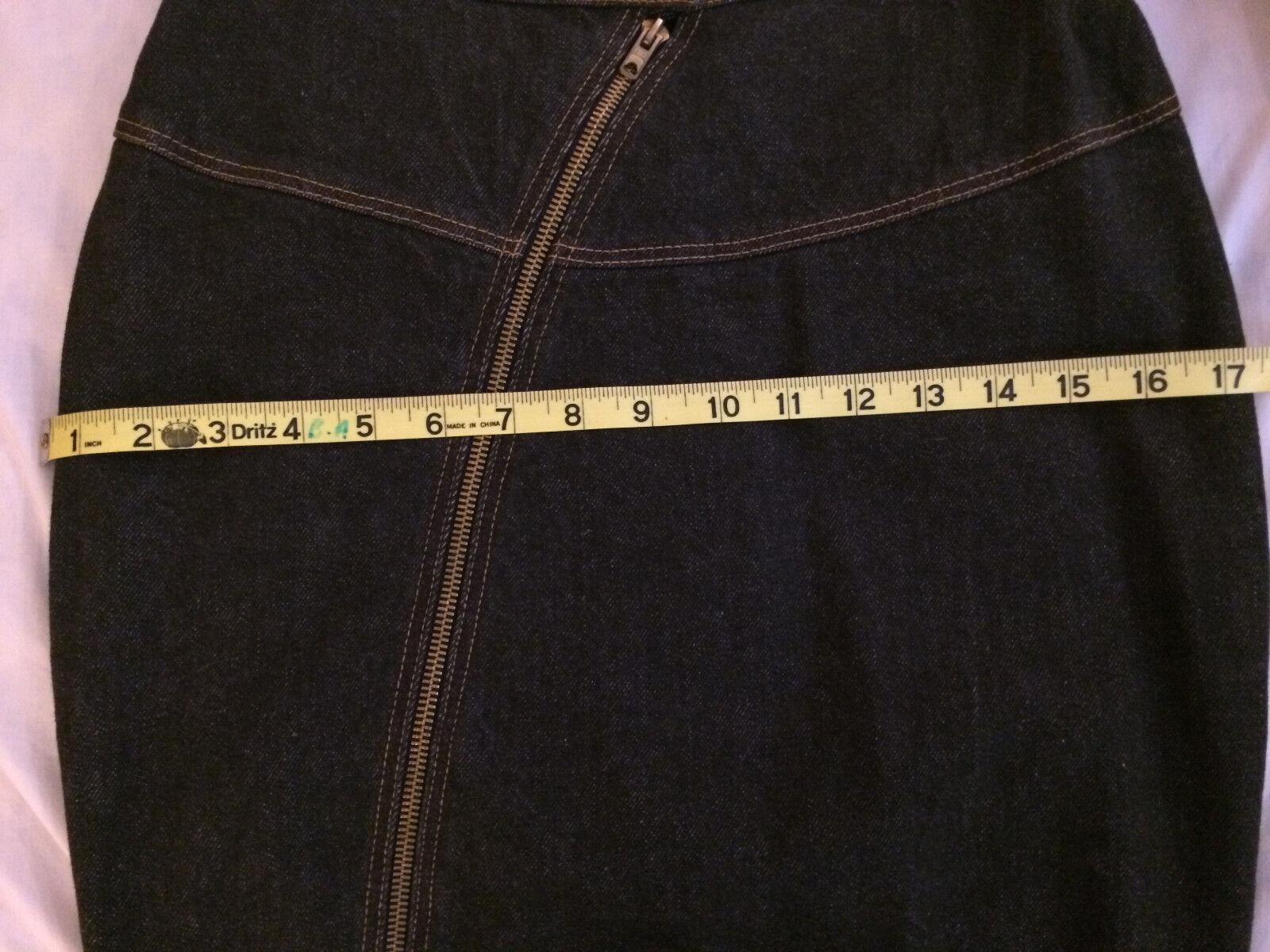 Iconic Azzedine Alaia vintage denim jacket and sk… - image 10