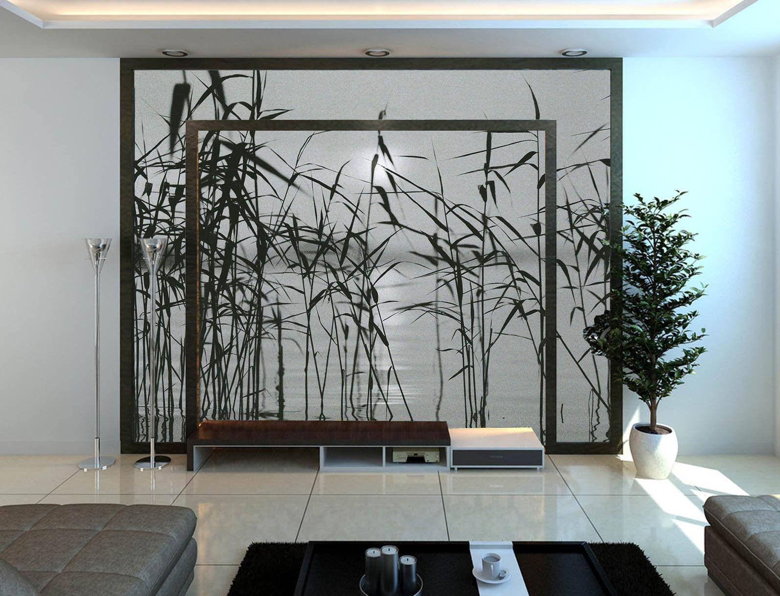 3D Reed See 865 Tapete Wandgemälde Tapete Tapeten Bild Familie DE Summer