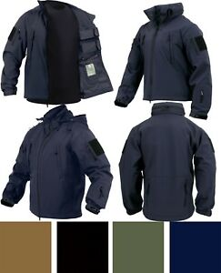 Image is loading Soft-Shell-Concealed-Carry-Jacket -CCW-Ambidextrous-Tactical- 399240c2abe