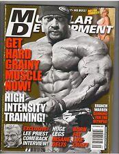 MUSCULAR DEVELOPMENT Bodybuilding Magazine/Branch Warren/Timea/Jamie Eason 9-10