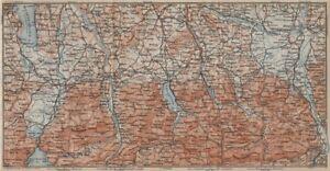 Bavarian Alps Liberal Bayerische Alpen Lenggries Spitzingsee Bayrischzell 1911 Map Reliable Performance