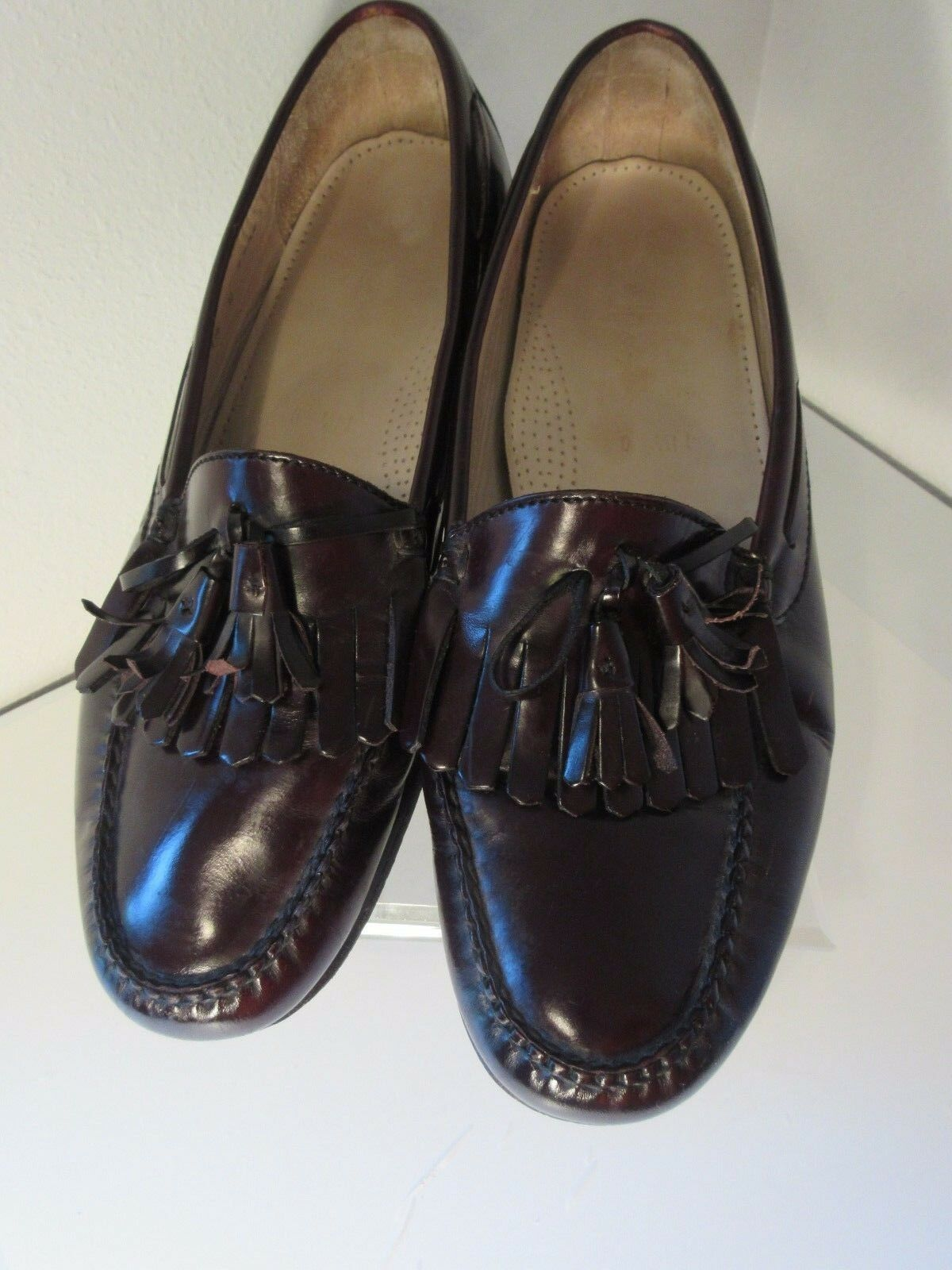 Cole Haan Loafers Tassel Loafers Haan Men's 11.5D Brown 2ee515