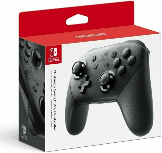 Original Nintendo Switch Pro Wireless Game NFC Controller - Black