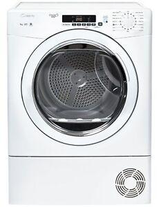 Candy-GVS-C9DG-9KG-Sensor-Dry-Condenser-Tumble-Dryer-White