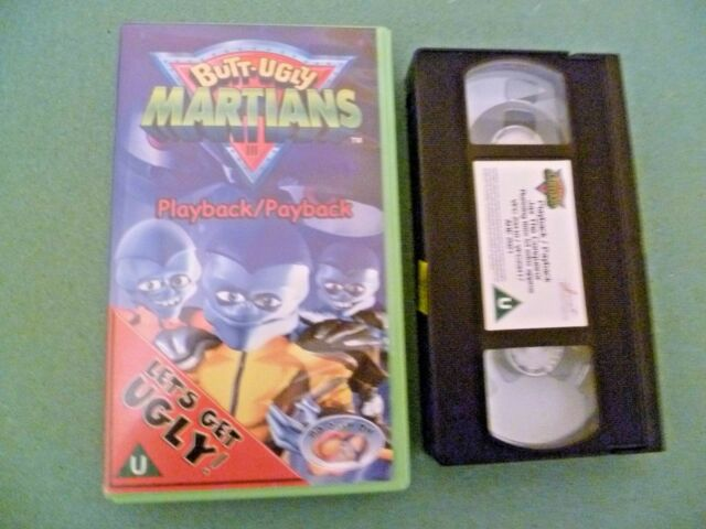 Butt-Ugly Martians - Vol. 1 (VHS, 2001)