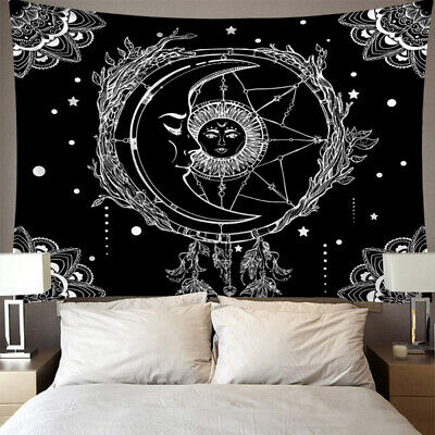 """Psychedlic Astrology Stars Tapestry Print Bedroom Wall Hanging 38x29/"""" MA"""