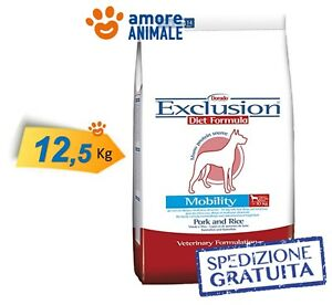 Exclusion-Diet-Mobility-Medium-Large-Breed-Maiale-e-Riso-12-5-kg-gt-Cane-cani