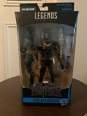 MARVEL LEGENDS BLACK PANTHER ERIK KILLMONGER BAF OKOYE 6 IN LOOSE COMPLETE