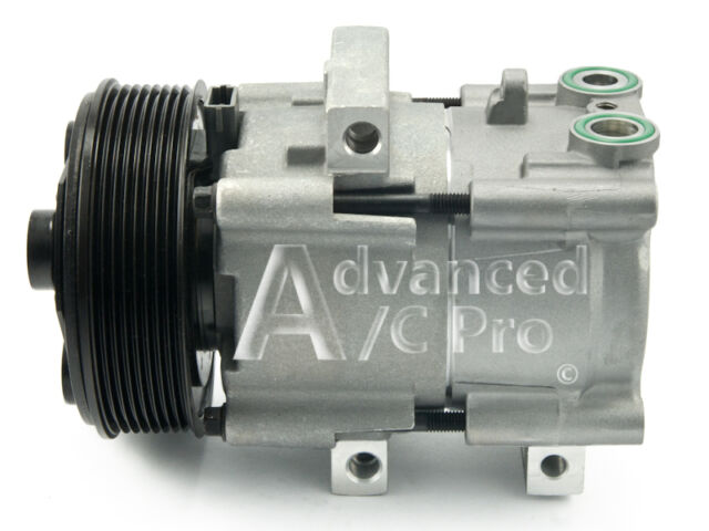 AC Compressor Fits: 99 - 01 Ford F250  F350  F450  F550 Super Duty 5.4L 6.8L