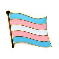 Transgender Flag Lapel Pin 0.5 Trans Pride Lgbt Hat Tie Tack Badge Transexual