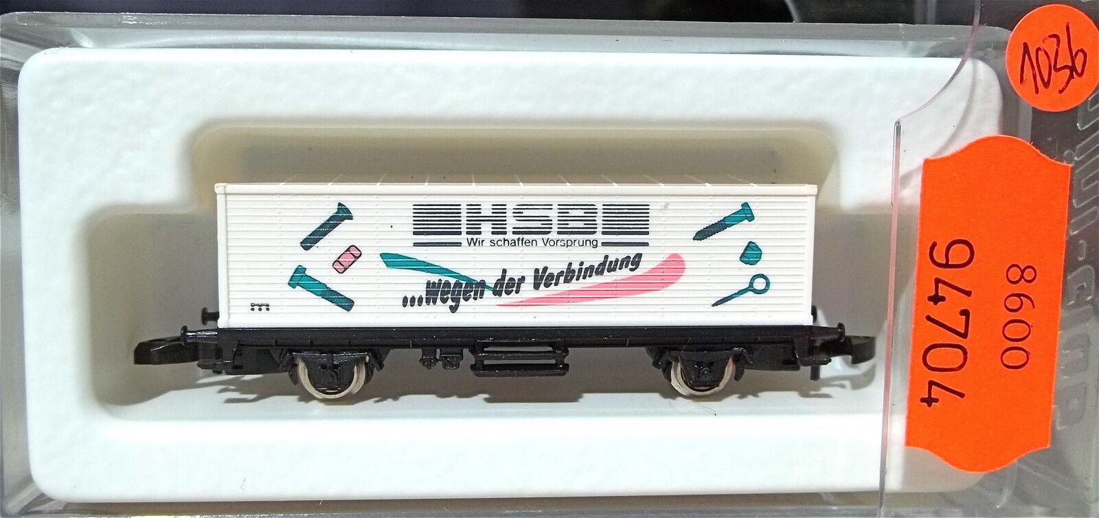 HSB container Carrello partire 92   8615 Z 1:220 1036 å