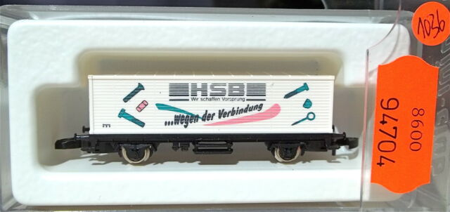 Hsb Container Load Car Kolls 92 Märklin 8615 Z 1:220 1036 Å