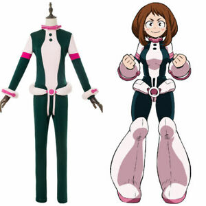 Details About My Hero Academia Boku No Ochako Uraraka Cosplay Costume Suit Outfit Uniform
