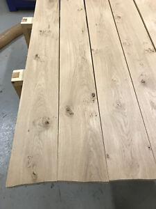 Rustikale Bretter brett balken eiche massiv holz kantholz leisten bohle tischbein