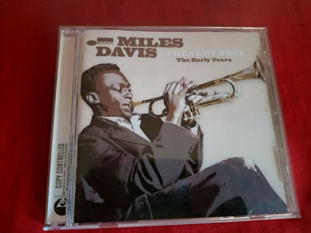 "MILES DAVIS "" THE VERY BEST OF THE EARLY YEARS "" CD JAZZ TOP"