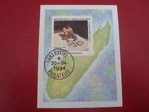 Diplomatique Madagascar - 1993-tapis-minisheet-non Montés Utilisés Miniature Feuille Ventes Bon Marché
