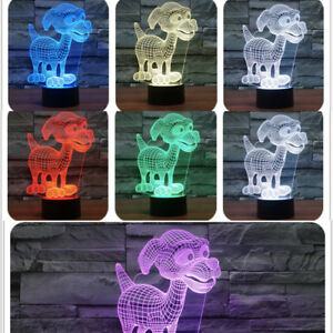 3D-Dog-Night-Light-LED-Table-Visual-Illusions-Gifts-Child-Toy-Lamp-Decor-New
