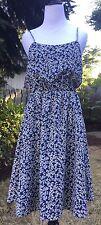 NWT J CREW SUNDRESS ITEM #A9874 Size 6 Blue Navy Oxbow $138 Dress
