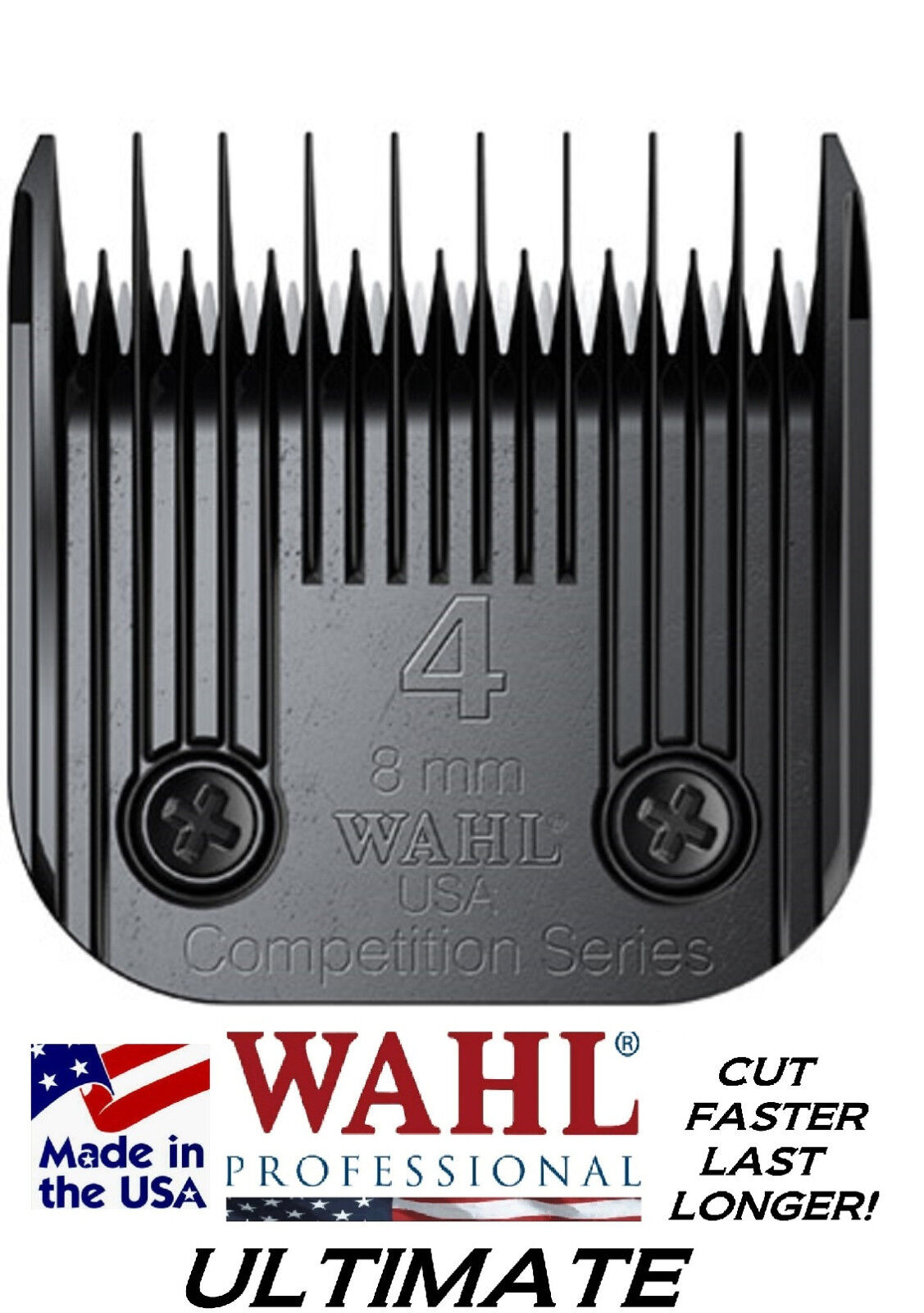 Wahl ULTIMATE COMPETITION Series A5 A5 A5 Clipper 4 Skip 8mm 5 16 BLADECUTS 3xFASTER  f1a4e6