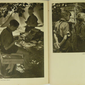 Jungvolk-German-Youth-Photo-Book-1930s-Boys-in-the-Camp-w-50-photos-DJ-Jungen