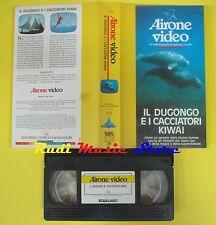 film VHS IL DUGONGO E I CACCIATORI KIWAI 1989 AIRONE 39 MONDADORI (F43) no dvd