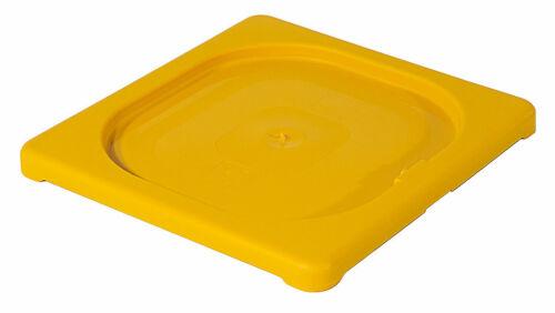 Gastronorm 1//6 farbig gelb Contacto GN Deckel aus Polypropylen
