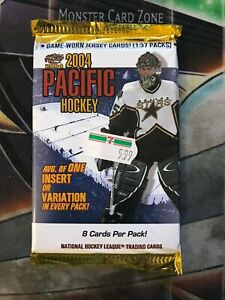 2004-05-PACIFIC-Hockey-Factory-Sealed-BOOSTER-Pack-1-PACK-RARE