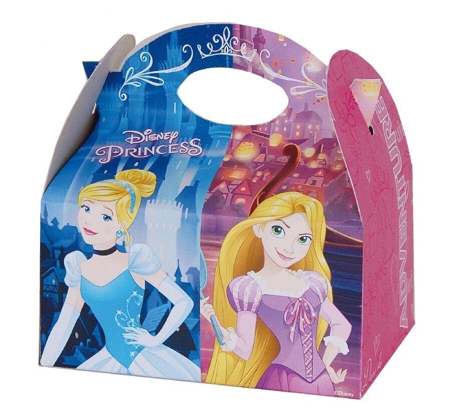 12  X  12 s sur le thème de transporter la Nourriture Repas Box Birthday Party Loot Bag Cases 2ff52d