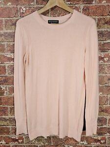 Banana-Republic-sz-S-Italian-Yarn-Sweater-Merino-Cashmere-Blend-Pink-Filpucci