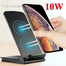 Qi Wireless Charger Fast Charging Stand Dock For Samsung S8 S9 S10 Plus Note 8 9